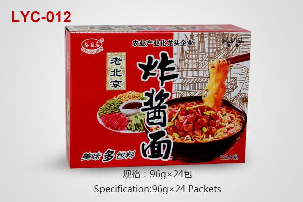 Noodles cartons