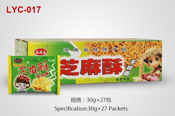 Sesame Crisp noodles cartons