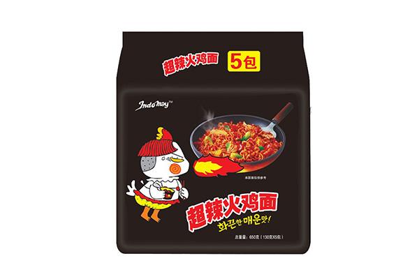 超辣火鸡面130g五连包