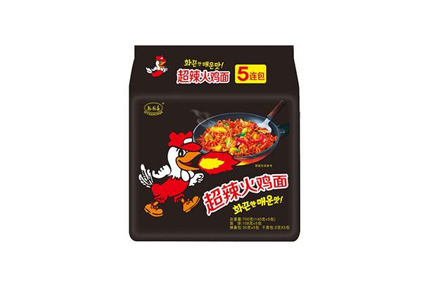 超辣火鸡面140g五连包